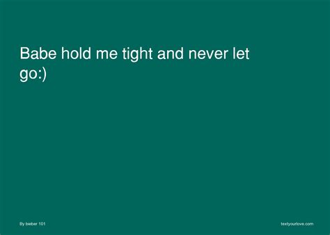 she hold me down quotes