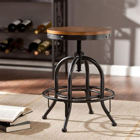 Christopher Counter Height Bar Stools by Carolina Cottage Justin Adjustable Height Black And