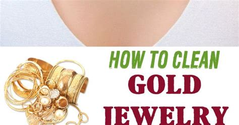 how to make jewelry cleaner for gold how to clean gold jewelry clean gold jewelry cleaning