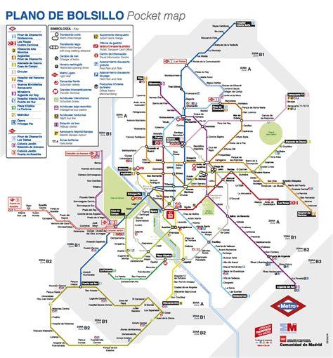 plano metro de madrid mapa metro madrid 2015