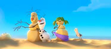 Fun frozen clip with olaf the snowman singing in summer