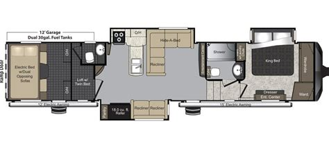 5th wheel bunkhouse floor plans rv net open roads forum fifth wheels need help finding