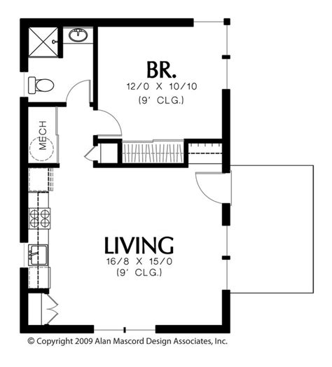 House Plans With Guest Suite by 25 Best Ideas About Micro House Plans On