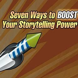 7 Ways To Boost Power by Seven Ways To Boost Your Storytelling Power Preaching