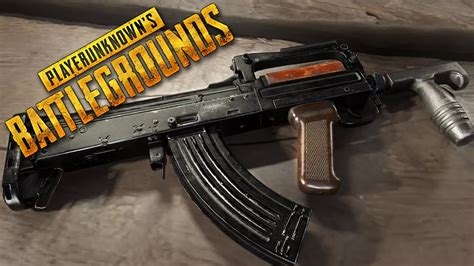 pubg groza achamos a arma groza pubattlegrounds ft