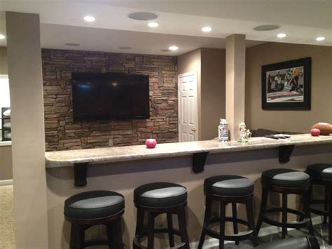 home designer half wall basement half walls