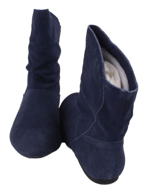 womens navy blue boots nine west mojito womens navy blue suede fashion ankle