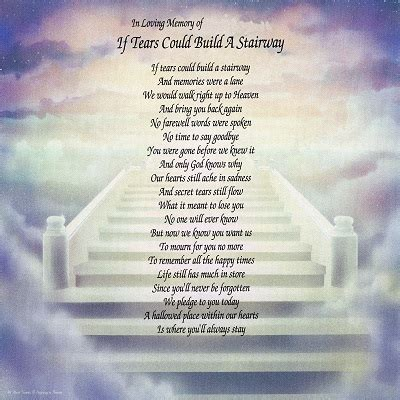 amazon.com : if tears could build a stairway bereavement