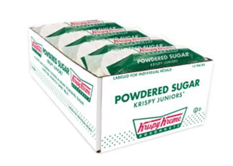 Shelf Of Powdered Sugar by Tsw Foods Krispy Kreme Donut Bags
