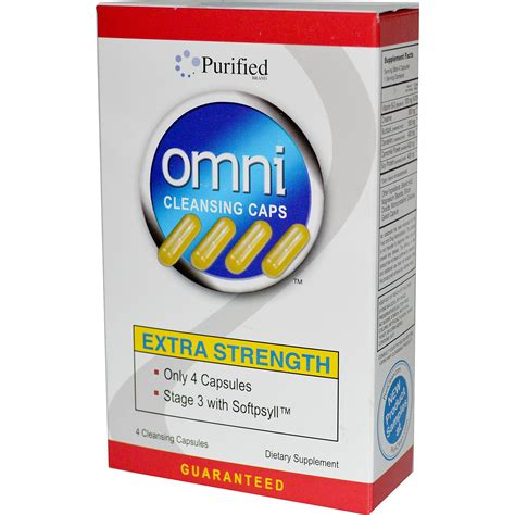 Omni Detox Pill Reviews by Heaven Sent Naturals Omni Cleansing Caps Strength