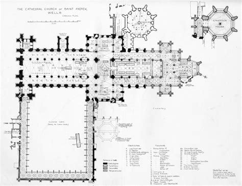 medieval cathedral floor plan english medieval cathedrals wells floor plan