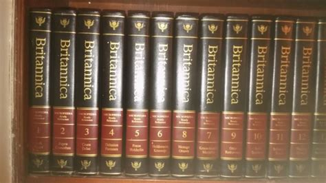 Children S Britannica Vol 8 1978 encyclopedia britannica leather bound childs britannica
