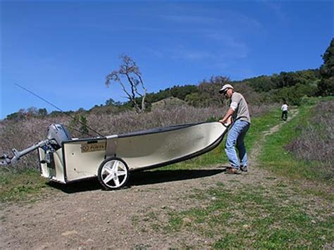 genesis folding boat porta bote tackletour test