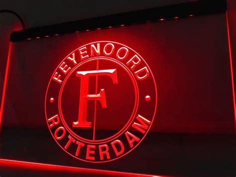 Bulk Wholesale Home Decor Zh3r Feyenoord Rotterdam Beer Bar Pub Club Logo Led Neon