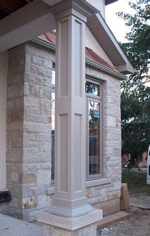 porch column wraps non tapered pvc column wraps exterior columns column wrap columns and wraps