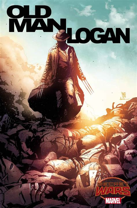 libro wolverine old man logan di brian michael bendis images for quot secret wars quot rages on with quot spider island quot quot siege quot more in marvel s july 2015