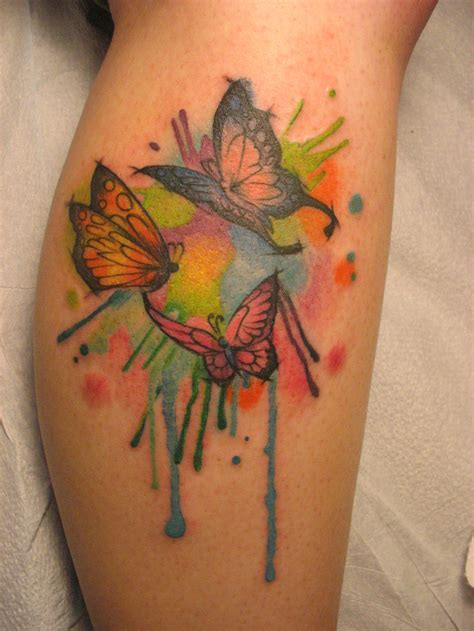 watercolor butterfly tattoo watercolor butterfly by jessiesupertattoos on deviantart
