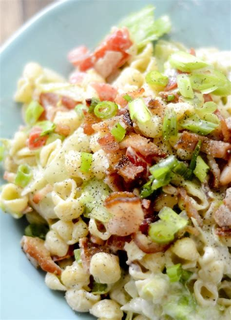 pasta salad mayo weight watcher s blt pasta salad recipe bacon