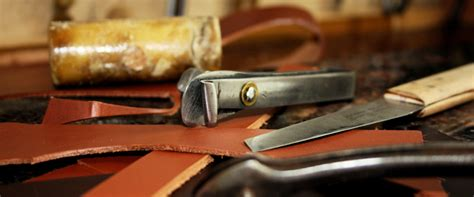 Handmade Leather Goods Uk - materials methods simon brock handmade leather goods