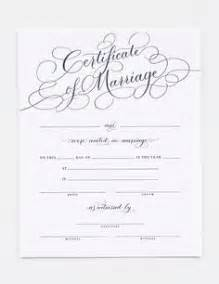 keepsake marriage certificate template 1000 ideas about marriage certificate on