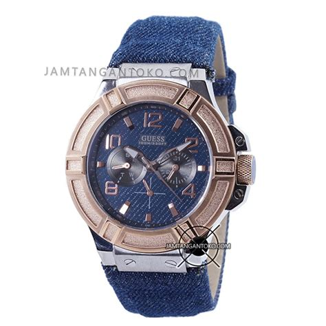 Jam Guess Denim Blue harga sarap jam tangan guess denim w0040g6 biru