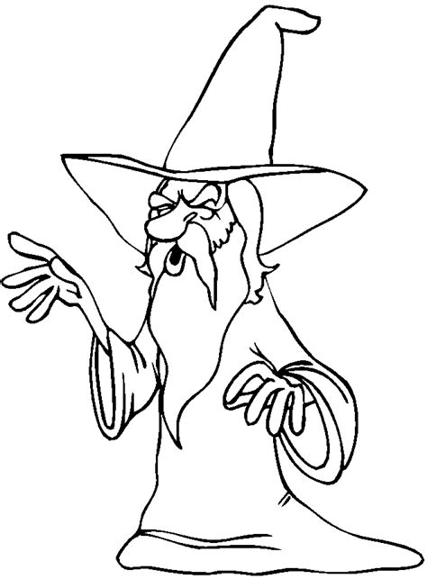 Magic Coloring Pages Birthday Printable Magician Coloring Pages Printable