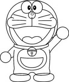 say hi to doraemon coloring pages netart