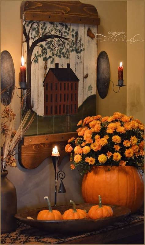 primitive fall decorating 335 best images about primitive fall on