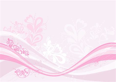 modern pink floral ppt backgrounds 1024x768 resolutions