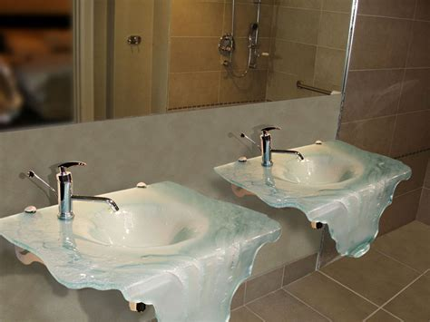 glass bathroom countertops sinks wall mount sink bathroom sinks cbd glass