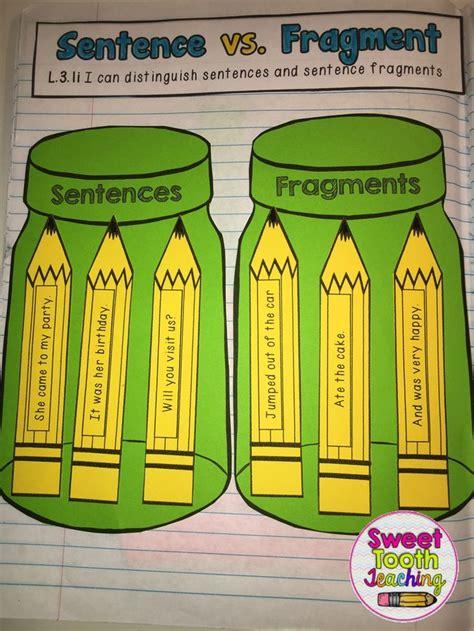 cuarto in a sentence grammar language interactive notebook grammar things