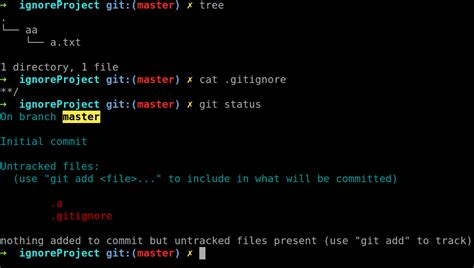 ignore pattern rule git what pattern does gitignore follow stack overflow