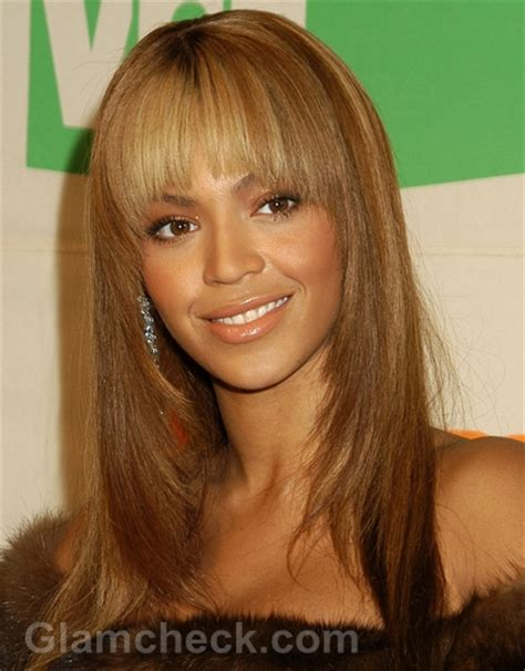 Front Bangs Hairstyles by Beyonce Hairstyles