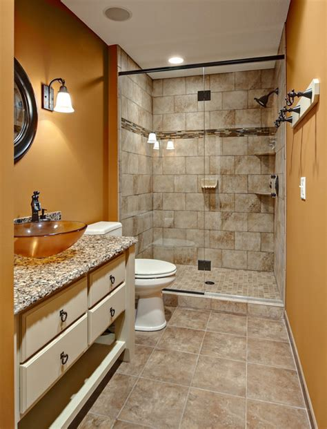 18x18 tile in small bathroom small bathroom what size tiles should i use