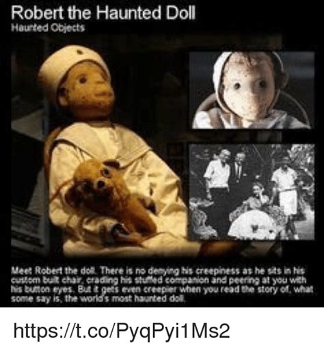 haunted doll memes robert the haunted doll haunted objects meet robert the do