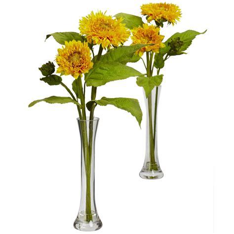 Sunflower Vases by Sunflower W Bud Vase Set