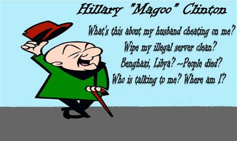 Mr Magoo Meme - hillary mr magoo clinton picture ebaum s world