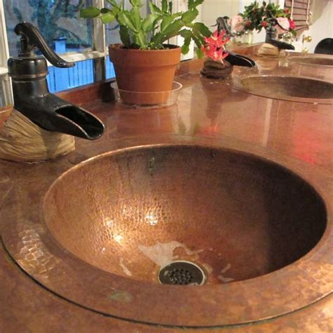 How To Clean Copper Sink by How To Get Rid Of Ants In The Bathroom Popsugar Home