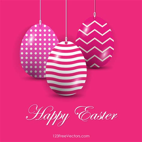 pink easter egg easter eggs in pink background vector free by