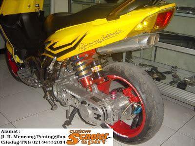 Duct Air Nouvonouvo Z otomotif yamaha nouvo lele 2002 scooter spot