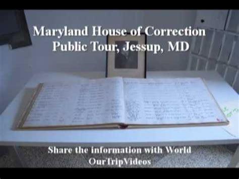 house of correction visiting maryland house of correction public tour jessup md us youtube