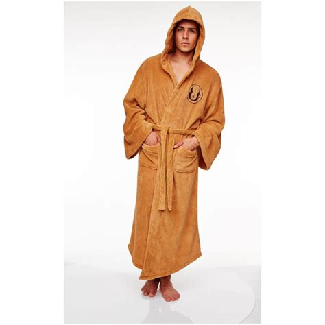jedi fleece robe wars jedi fleece bathrobe one size iwoot