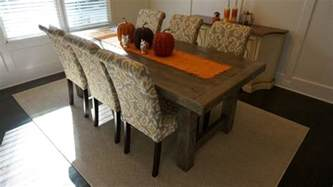 Rustic Gray Dining Room Table Rustic Slate Gray The Clayton Rustic Farm Dining Table Rustic Dining Room Atlanta By