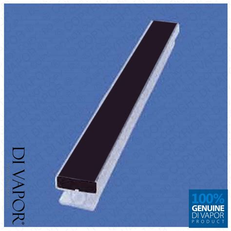 shower door magnetic replacement replacement magnetic seal for shower door 10mm channel