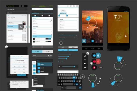 free ui templates for android free android gui wireframe templates 2014