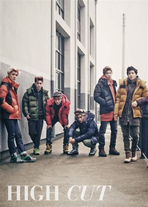 Sale Exo Cold exo k get active in their puffer jackets for high cut