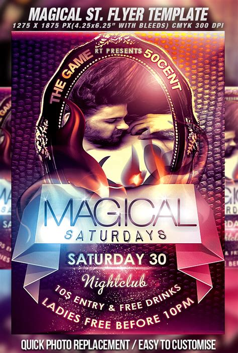 psd magical s flyer vol 2 by retinathemes on deviantart