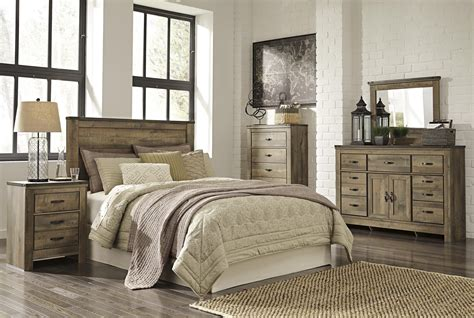 signature design  ashley trinell queen bedroom group northeast factory direct bedroom groups