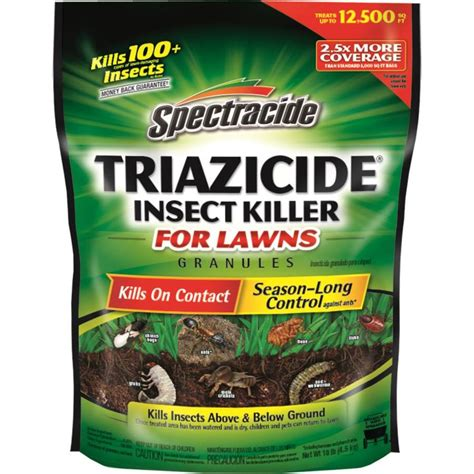 shop spectracide triazicide 10 lb insect killer at lowes com