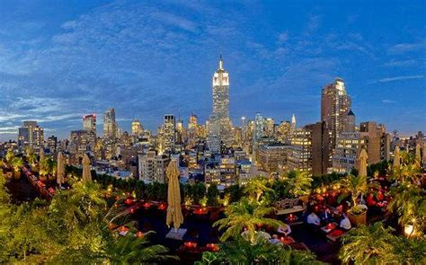 roof top bar in nyc top 5 rooftop bars gardens in manhattan new york city new york habitat blog